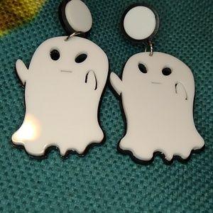 Acrylic Ghost Earrings